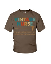 Vintage Nurse Knows More Than He Says Youth T-Shirt thumbnail
