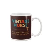 Vintage Nurse Knows More Than He Says Mug thumbnail