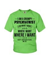 I Am A Grumpy Psychiatrist Youth T-Shirt thumbnail