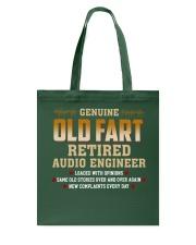 Genius Old Fart Retired Audio Engineer Tote Bag thumbnail