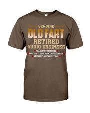Genius Old Fart Retired Audio Engineer Classic T-Shirt thumbnail