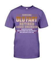 Genius Old Fart Retired Audio Engineer Premium Fit Mens Tee thumbnail
