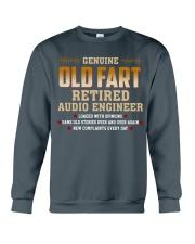 Genius Old Fart Retired Audio Engineer Crewneck Sweatshirt thumbnail