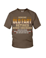 Genius Old Fart Retired Audio Engineer Youth T-Shirt thumbnail