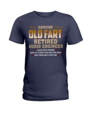 Genius Old Fart Retired Audio Engineer Ladies T-Shirt thumbnail