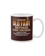 Genius Old Fart Retired Audio Engineer Mug thumbnail