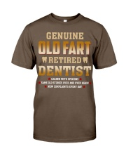 Old Fart Retired Dentist Classic T-Shirt thumbnail