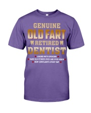 Old Fart Retired Dentist Premium Fit Mens Tee thumbnail