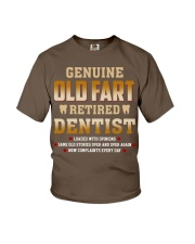 Old Fart Retired Dentist Youth T-Shirt thumbnail