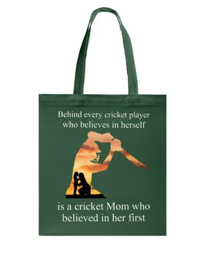Behind Cricket Player