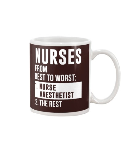 Nurses From Best To Worst Nurse Anesthetist