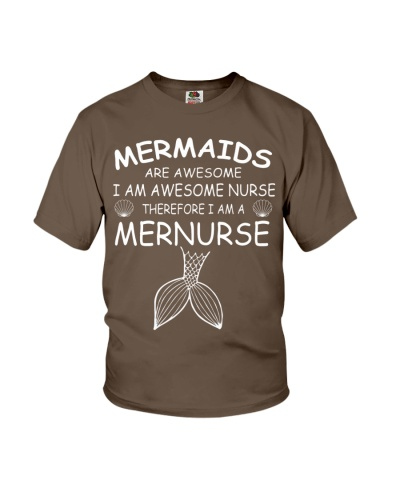 Mermaids Are Awesome I Am Awesome Nurse