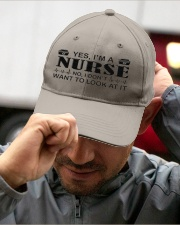 Nurse I Dont Want To Look At It Embroidered Hat garment-embroidery-hat-lifestyle-01