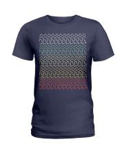Audio Waveform Ladies T-Shirt thumbnail