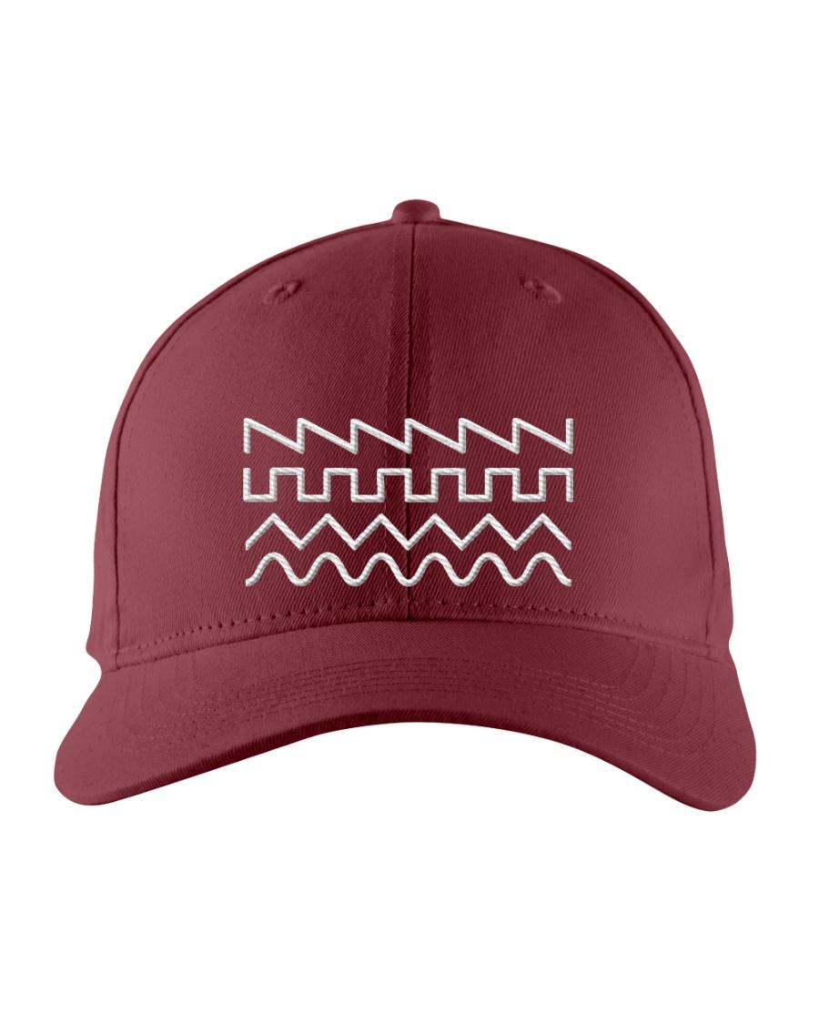 Audio Waveform Embroidered Hat