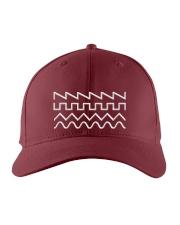 Audio Waveform Embroidered Hat front