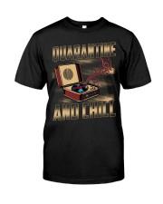 Quarantine and Chill Vinyl Classic T-Shirt thumbnail