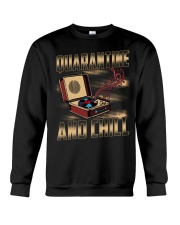 Quarantine and Chill Vinyl Crewneck Sweatshirt thumbnail