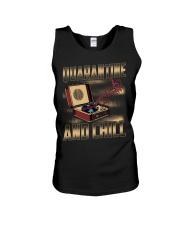 Quarantine and Chill Vinyl Unisex Tank thumbnail