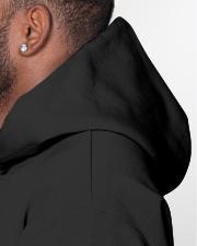 Quarantine and Chill Vinyl Hooded Sweatshirt garment-hooded-sweatshirt-detail-left-hat-02