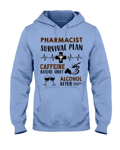 Pharmacist Survival Plan Caffeine Alcohol