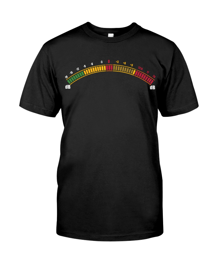 Loudness Meter Classic T-Shirt