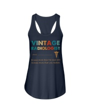 Vintage Radiologist Knows More Than He Says Ladies Flowy Tank thumbnail