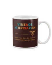Vintage Veterinarian Knows More Than She Says Mug thumbnail