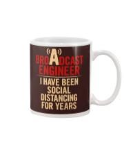 Broadcast Engineer Social Distancing Mug thumbnail