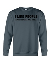 I Like People Crewneck Sweatshirt front