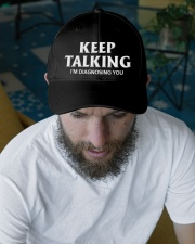 Keep Talking I'm Diagnosing You Doctor Psychology Embroidered Hat garment-embroidery-hat-lifestyle-06