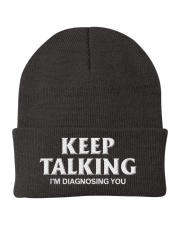 Keep Talking I'm Diagnosing You Doctor Psychology Knit Beanie thumbnail