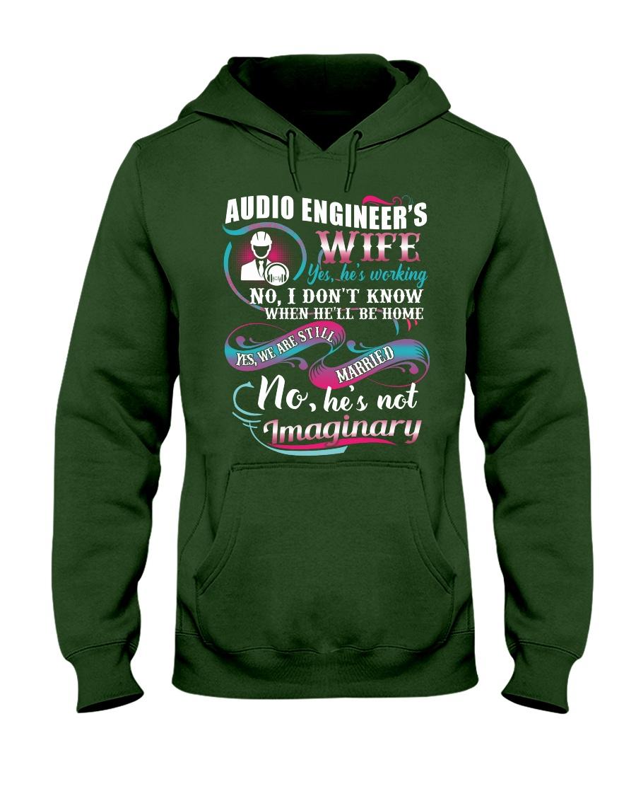 Audio Engineer's Wife Hooded Sweatshirt