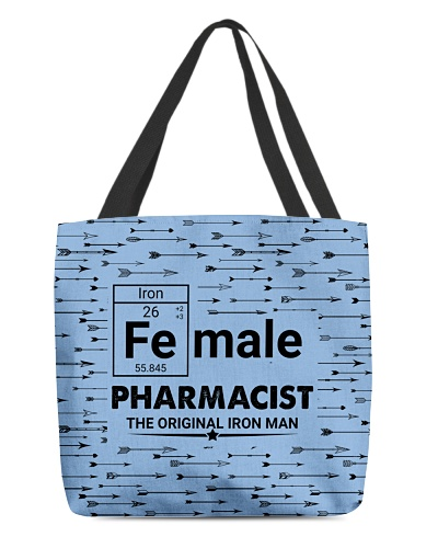 Female Pharmacist Arrow