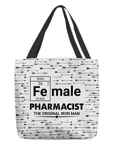 Female Pharmacist Arrow