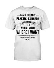 I Am A Grumpy Plastic Surgeon Premium Fit Mens Tee thumbnail
