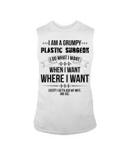 I Am A Grumpy Plastic Surgeon Sleeveless Tee thumbnail