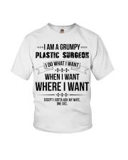 I Am A Grumpy Plastic Surgeon Youth T-Shirt thumbnail