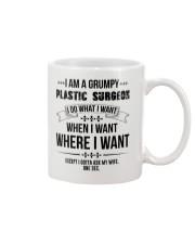 I Am A Grumpy Plastic Surgeon Mug thumbnail