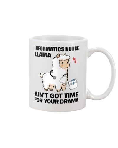 Informatics Nurse Llama