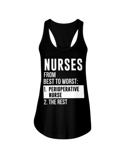 Nurses From Best To Worst Perioperative Nurse