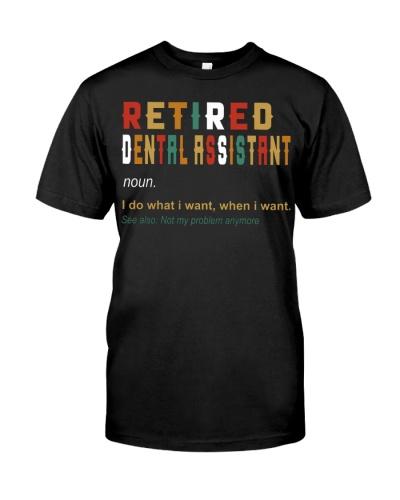 Retired Dental Assistant