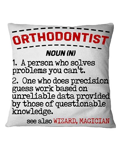 Orthodontist Noun
