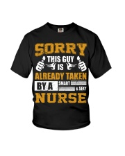 Sorry This Guy Taken By Nurse Youth T-Shirt thumbnail