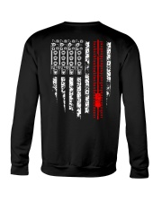 American Flag Audio Engineer Crewneck Sweatshirt thumbnail