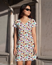 Cakes All-over Dress aos-dress-front-lifestyle-1