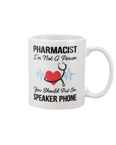 Pharmacist Not A Person Speaker Phone