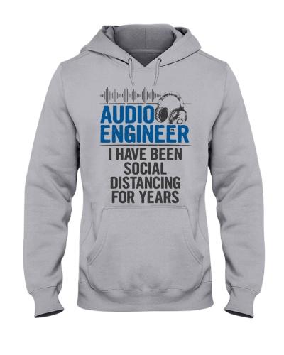 Audio Engineer Social Distancing