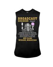 Broadcast Engineer See Also Wizard Magician Sleeveless Tee thumbnail