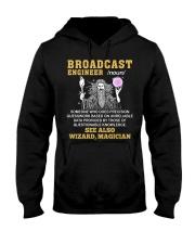 Broadcast Engineer See Also Wizard Magician Hooded Sweatshirt thumbnail